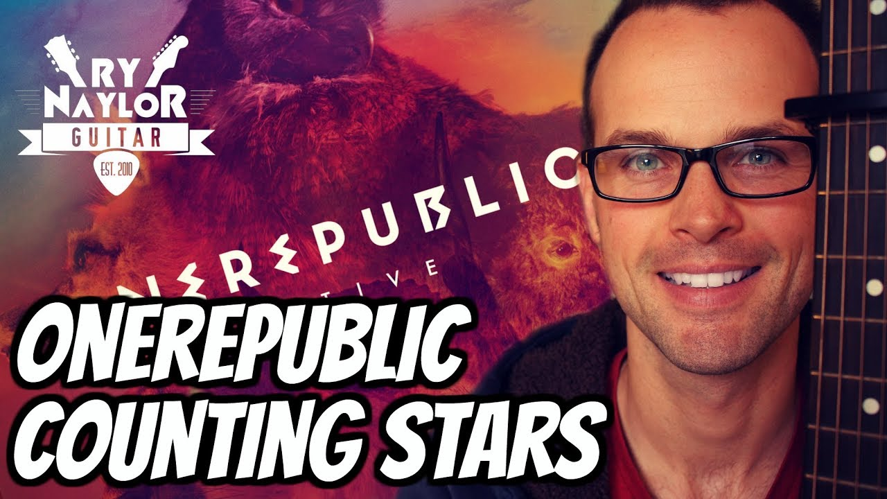 Counting Stars Guitar Lesson Onerepublic Acoustic Fingerstyle