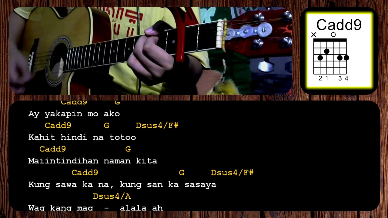 Oks Lang Ako By Jroa Acoustic Guitar Chords Tutorial Guitar